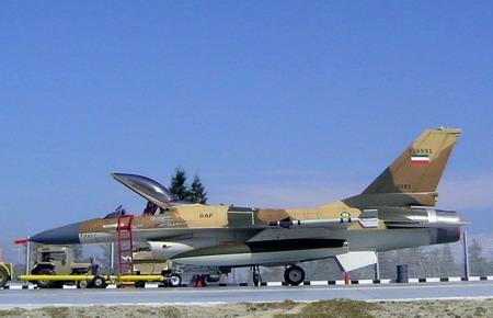 تصویری منسوب به یک فروند f-16 ایرانی