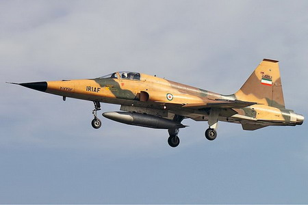 اف-5 نیروی هوایی ایران