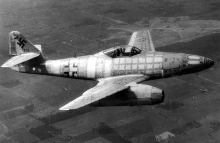 هواپیمای جت مسراشمیت 262